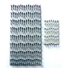 Plaque de clou de gang personnalisée avec plaque de zinc