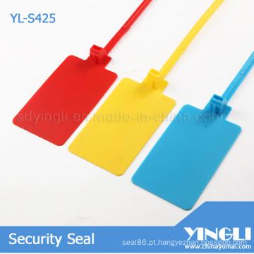 Puxe o selo de plástico apertado com etiqueta grande (YL-S425)