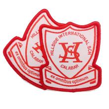 Custom High Quality School Logo Uniform Woven Badge