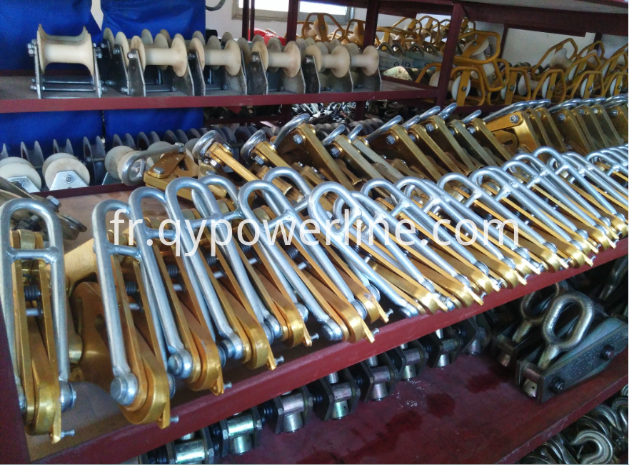 Aluminum Come Along Clamp ACSR