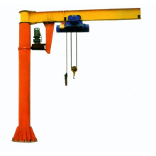BZD Jib crane /360 degree swing arm lift crane/top quality Slewing Jib Cranes