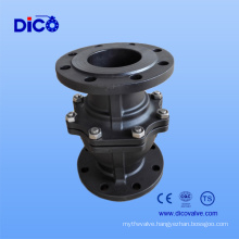 Wcb Flange Floating Ball Valve with Mouting Pad