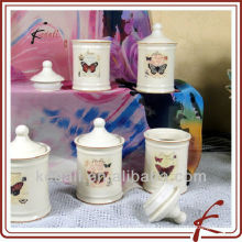 Ensemble de pot de céramique épicée