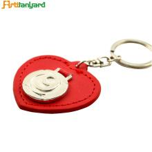 Porte-clés personnalisé avec cuir PU