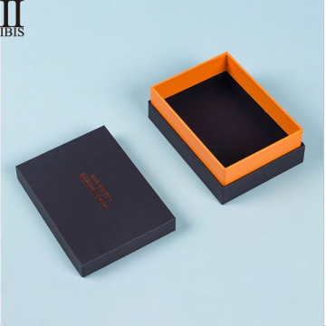 Wholesale Packaging Box Rgid Black Gift Boxes