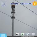 Torre de telecomunicações móveis de paisagem para terminais de caminhões e ônibus