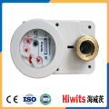 Precio bajo de latón inteligente 15-20-25mm medidor de agua prepago digital con tarjeta IC