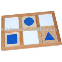 Montessori Geometrische Demonstrationsschale