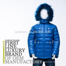 El invierno del bebé abajo abajo de la capa de la chaqueta arropa 2018 estilos europeos