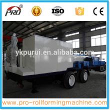 K tipo ACBM120 máquina de formação de telhado de arco