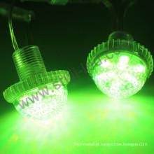 O rm dmx de 35mm conduziu o pixel da lâmpada 12v do parque de diversões do perfurador da luz do pixel da lâmpada da lanterna elétrica conduzido
