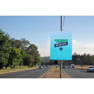 Full Colour IP65 Smart Pole Billboard LED Display