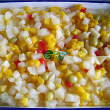 Buena calidad mixta fruta conservado con HACCP