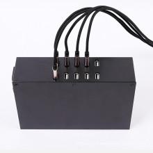 Carregamento rápido 10 portas 100W 2A * 10 Saída USB Desktop Smart Charger