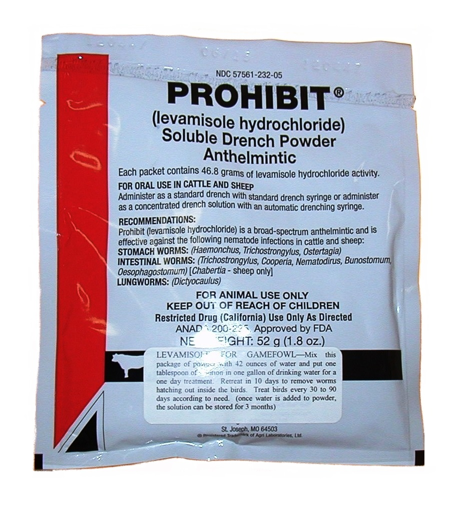 Levamisole Soluble Powder