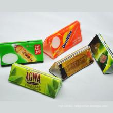 Custom Triangular Acrylic Menu Base, Acrylic Table Talker