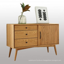 Classic Style Bedroom Wood Cabinet with Three Drawers