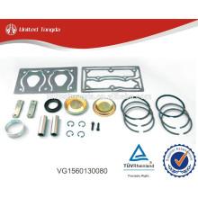 Kit de reparación de compresor de aire de camión HOWO VG1560130080