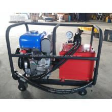 Groupe hydraulique à gaz