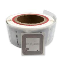 Étiquette de bibliothèque d'autocollants d'étiquette de papier imprimable HF RFID