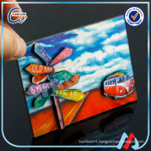 3d custom cheap fridge magnet