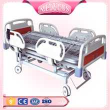 ABS electric adjustable home care medical bed with five functions