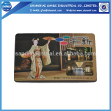high quality paper fridge magnet promotional made in china