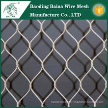 Malla de seguridad malla de acero inoxidable fábrica de metal de tela