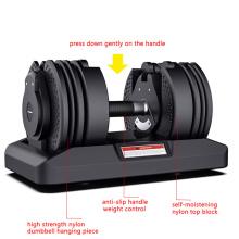 Wholesale Adjustable Fitness 15kg Barbell Strength Training Rubber Hex Chrome Dumbell Sets Hex Dumbbell Set