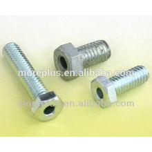 Hergestellt in Taiwan Stahl, Edelstahl, Kupfer Standard oder Nicht-Standard Sechskant-Kopfkappe Schrauben