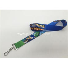 Both Sides Logo Sports Meeting Lanyards Silk Screen