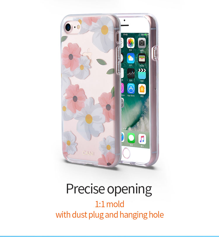 Crystal Case For IPhone8