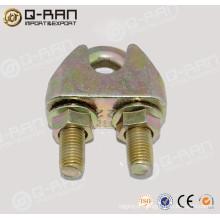 Ferragem resistente cabo de aço maleável Clip
