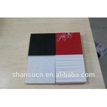 Panneau blanc de mousse de PVC imprimable pour le signe, panneau imprimé de mousse de PVC