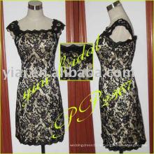 PP2367 Новый Cap рукава кружева короткое вечернее платье 2013