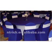 toalha de mesa de lycra/elastano e cadeira cobrir