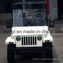 2016 Jinyi дешевле двухместных гонок Go Kart для взрослых и детей (JYATV-020)