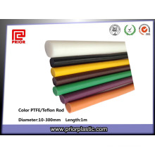 Usine différentes couleurs PTFE Bar Teflon Rod
