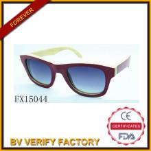 Alibaba Trade Assurance Polariod Woode lunettes de soleil (FX15044)