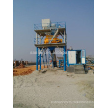 Wet mix concrete batch plant para la venta