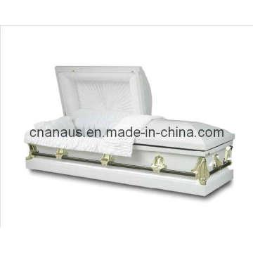 U.S. estilo 20ga aço caixão (2051012)
