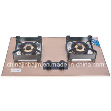2 Burners 750 Length, Tempered Glass Built-in Hob