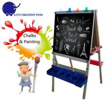 Folding Kids Chevalier en bois Chevalet Dessin Chevalet Croquis Chevalet avec support