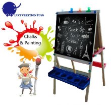 Folding Kids Wooden Frame Easel Drawing Easel Sketch Easel with Stand