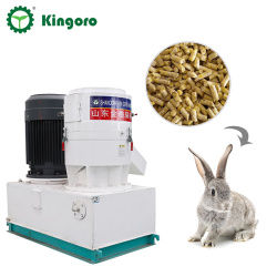 300-500 kg/h Small Farm Used Feed Pellet Press