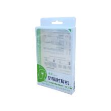Klare transparente elektronische Produktverpackung aus Kunststoff