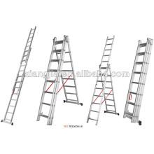 Q235 material construcción del proyecto EN131 andamio escalera de acero