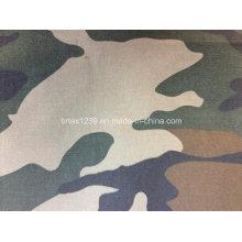 Tissu en toile de camouflage 100% coton