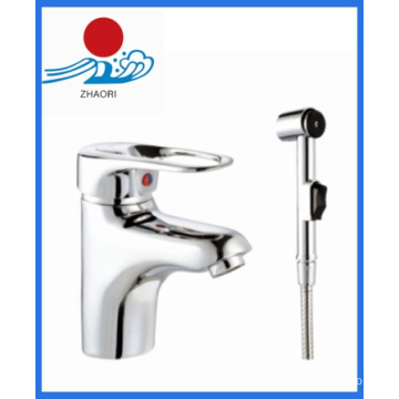 Hot and Cold Water Basin Mixer Water Faucet (ZR22002-1)