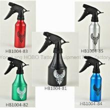 Accesorios baratos del tatuaje jabón verde botellas de aluminio para la fuente del estudio